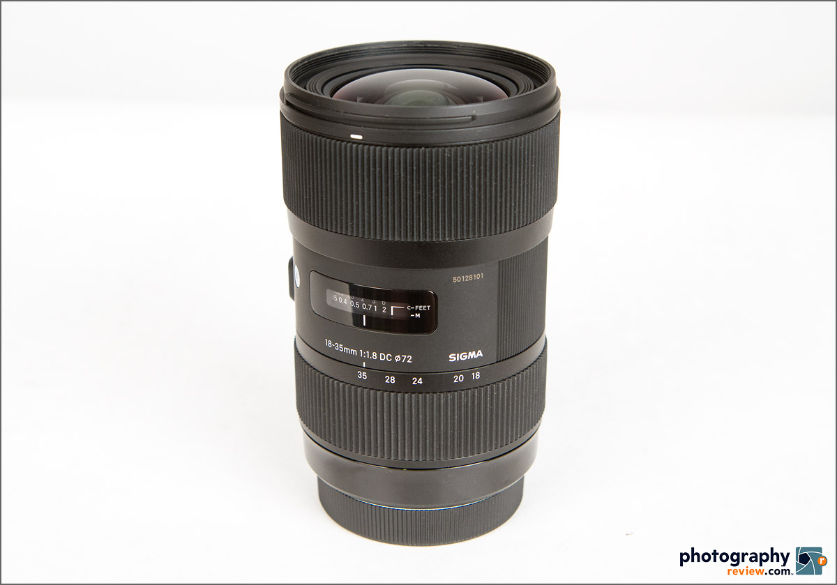 Sigma 18-35mm f/1.8 Zoom Lens For APS-C DSLRS