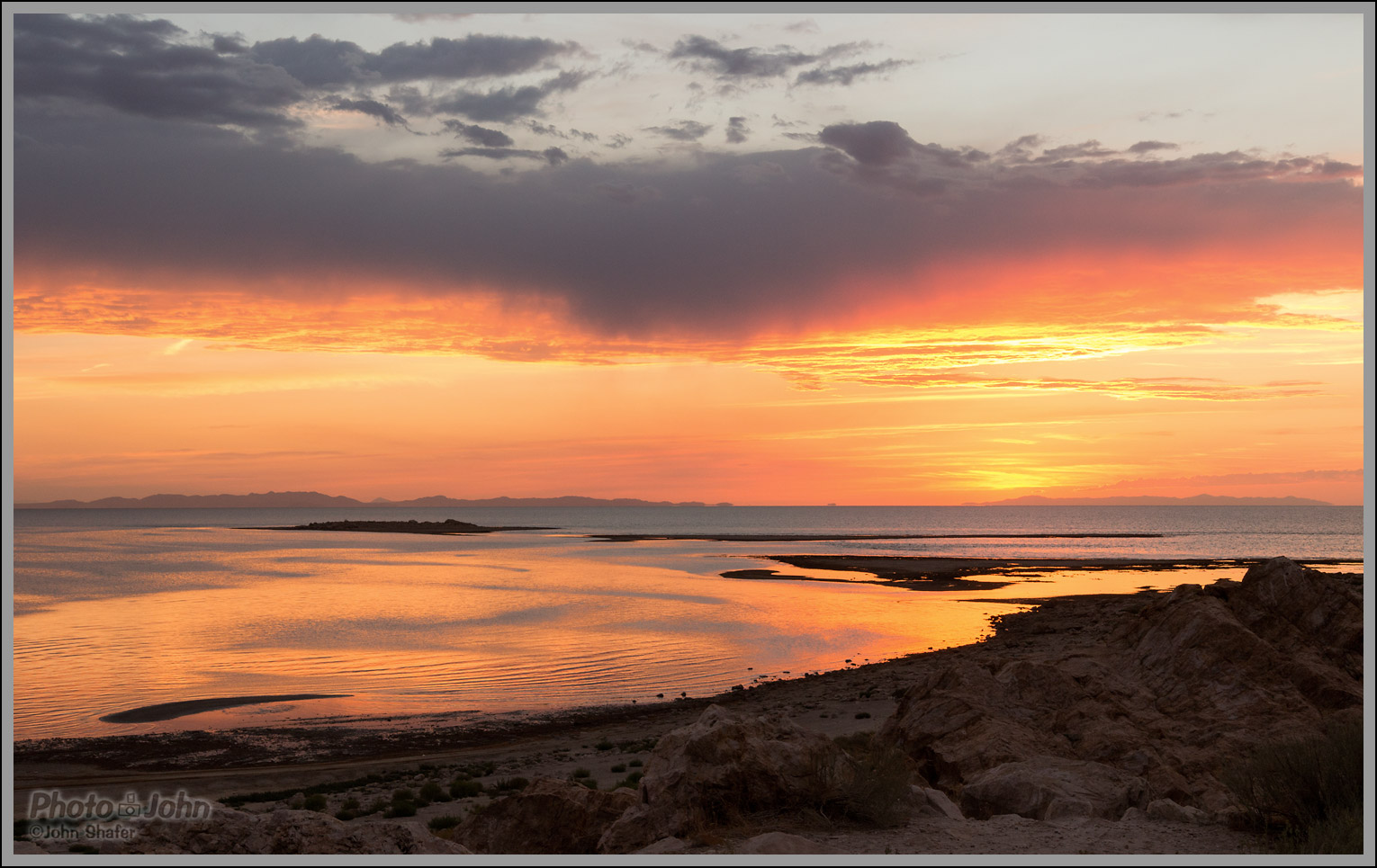 Sigma 18-35mm f/1.8 - Great Salt Lake Sunset Sample Photo