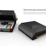 Socialmatic Camera With Retro Polaroid Case
