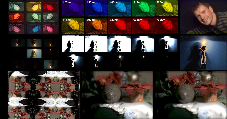 KaleidoCamera Image Output Examples
