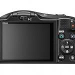 Nikon Coolpix L620 Pocket Camera - Rear View