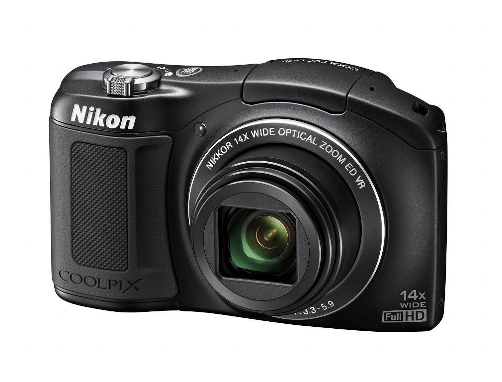 Nikon Coolpix L620 Pocket Camera - Black