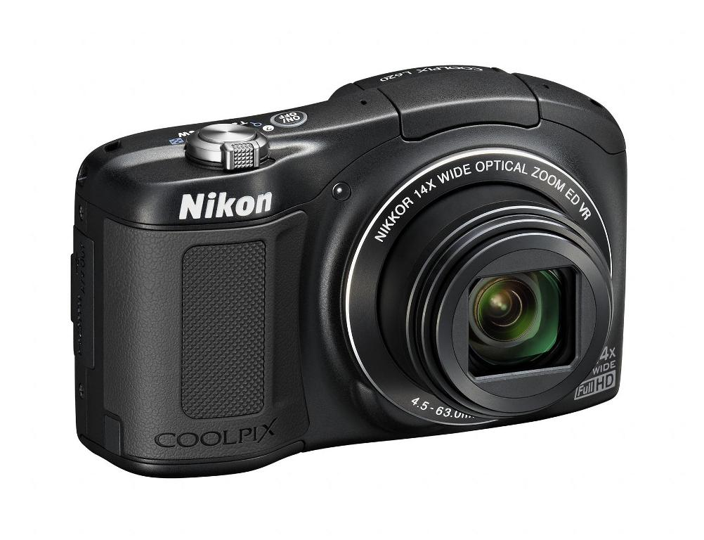 Nikon Coolpix L620 Pocket Camera With 14x Optical Zoom