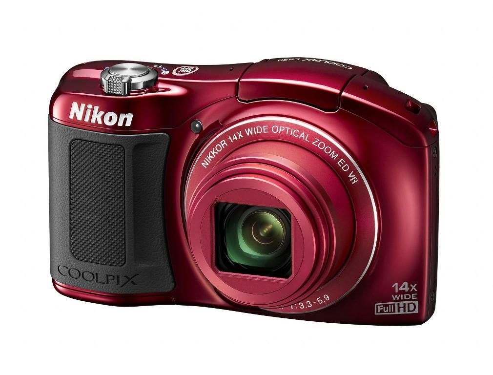Nikon Coolpix L620 Pocket Camera - Red
