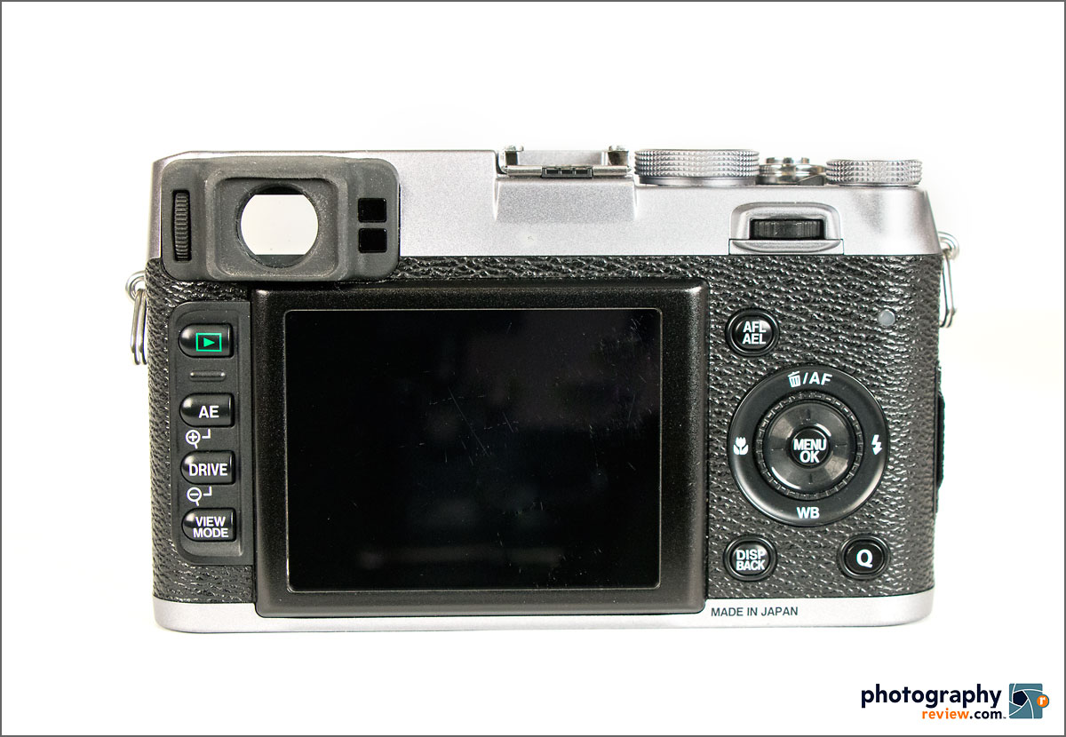Fujifilm X100S - Rear View