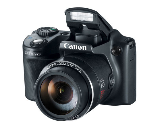 Canon PowerShot SX510 HS - Pop-Up Flash