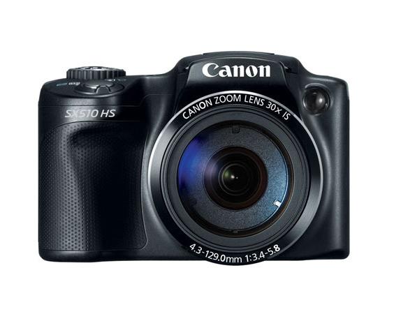 Canon PowerShot SX510 HS Superzoom Camera - Front
