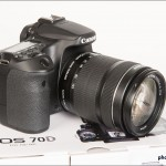 Canon EOS 70D - Right Side