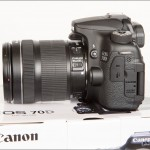 Canon EOS 70D - Left Side with 18-135mm STM Zoom Lens
