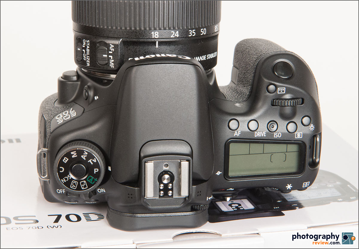 Canon EOS 70D - Top View & Controls