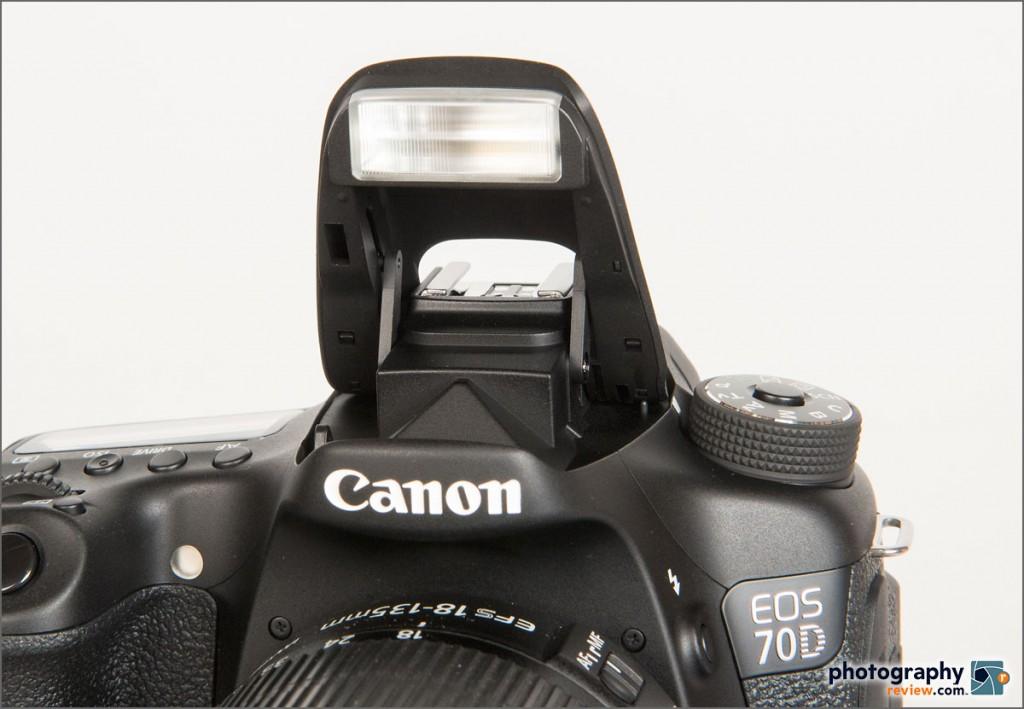 Canon EOS 70D - Pop-Up Flash