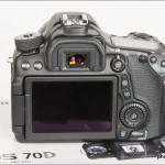 Canon EOS 70D - Rear With 3-inch Touchscreen LCD Display