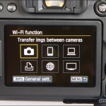 Canon EOS 70D Wi-Fi Menu
