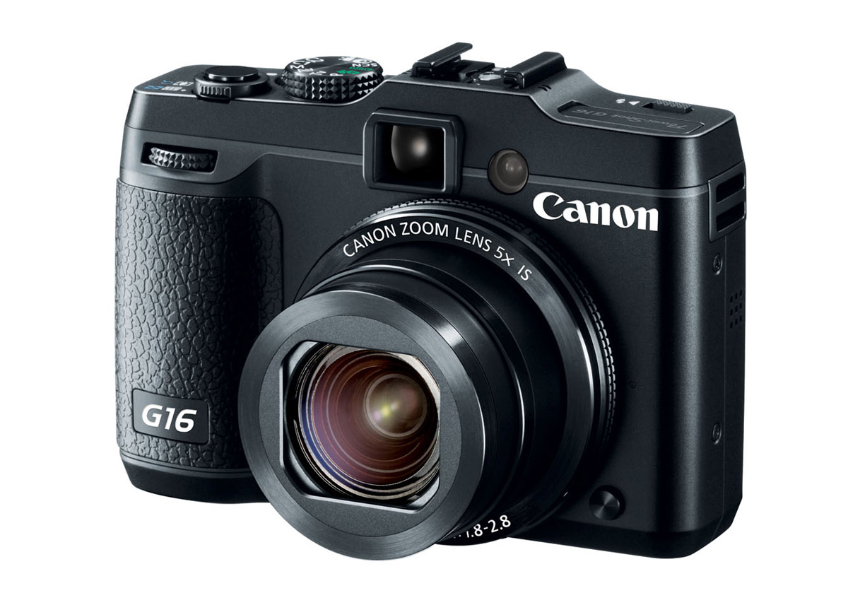 Canon PowerShot G16 With Built-In Wi-Fi