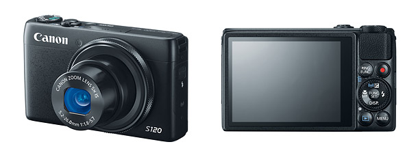 Canon PowerShot S120 - Front & Back