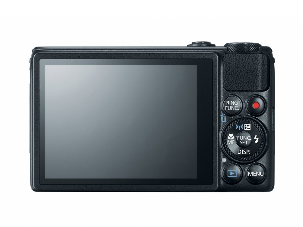 Canon PowerShot S120 - Rear View With Touchscreen LCD
