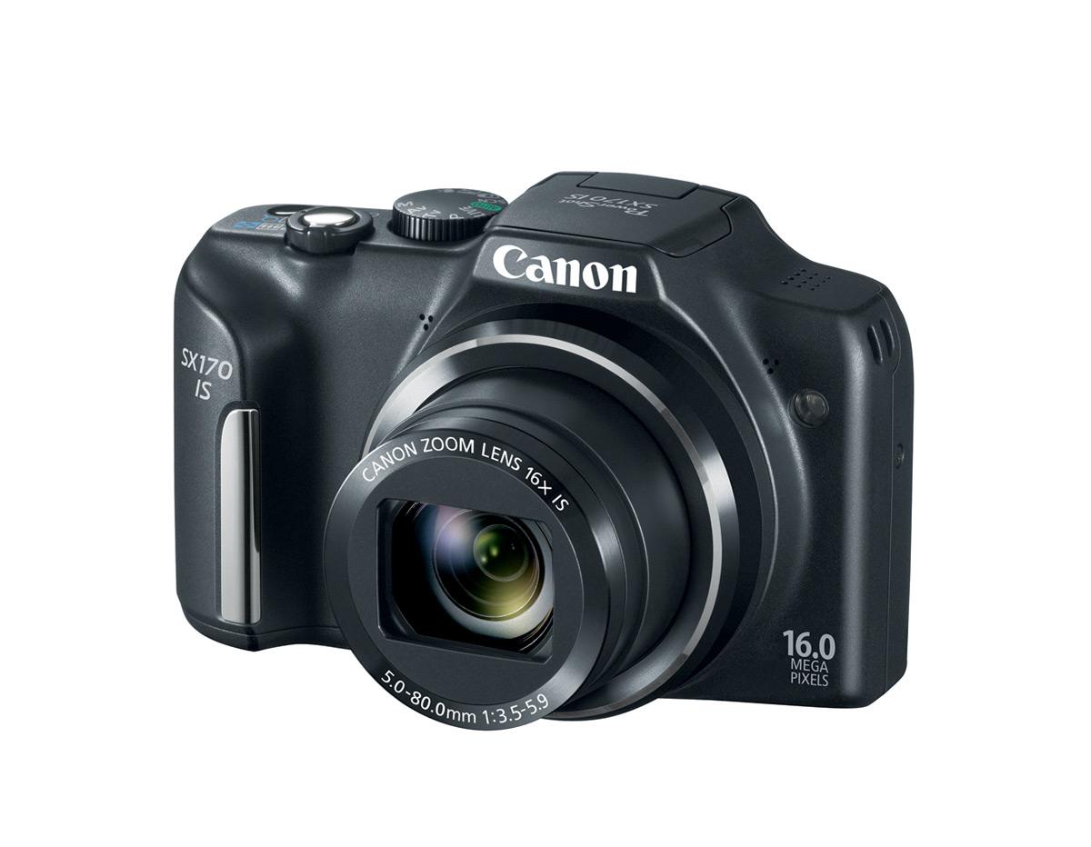 Canon PowerShot SX170 IS - Black