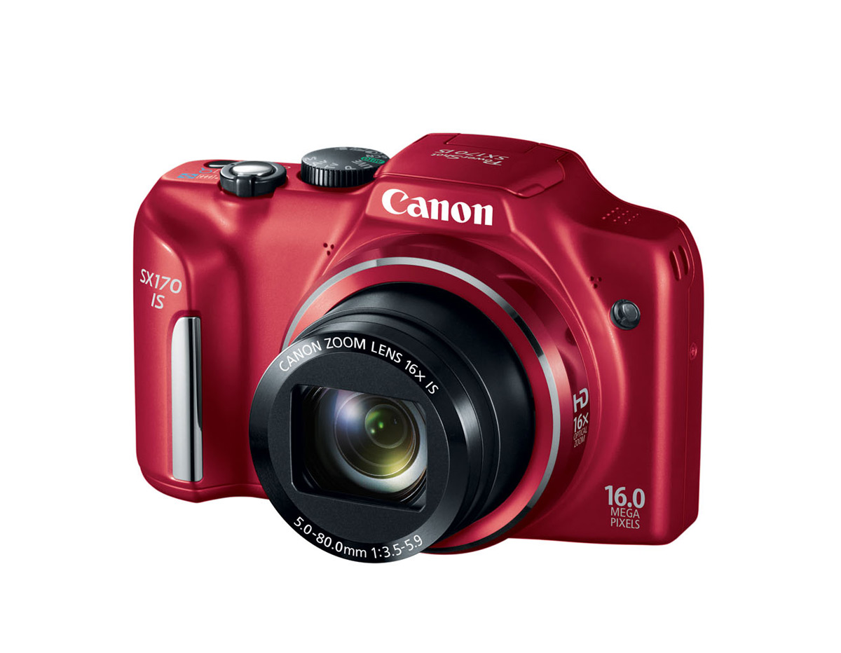 Canon PowerShot SX170 IS Compact 16x Superzoom Camera