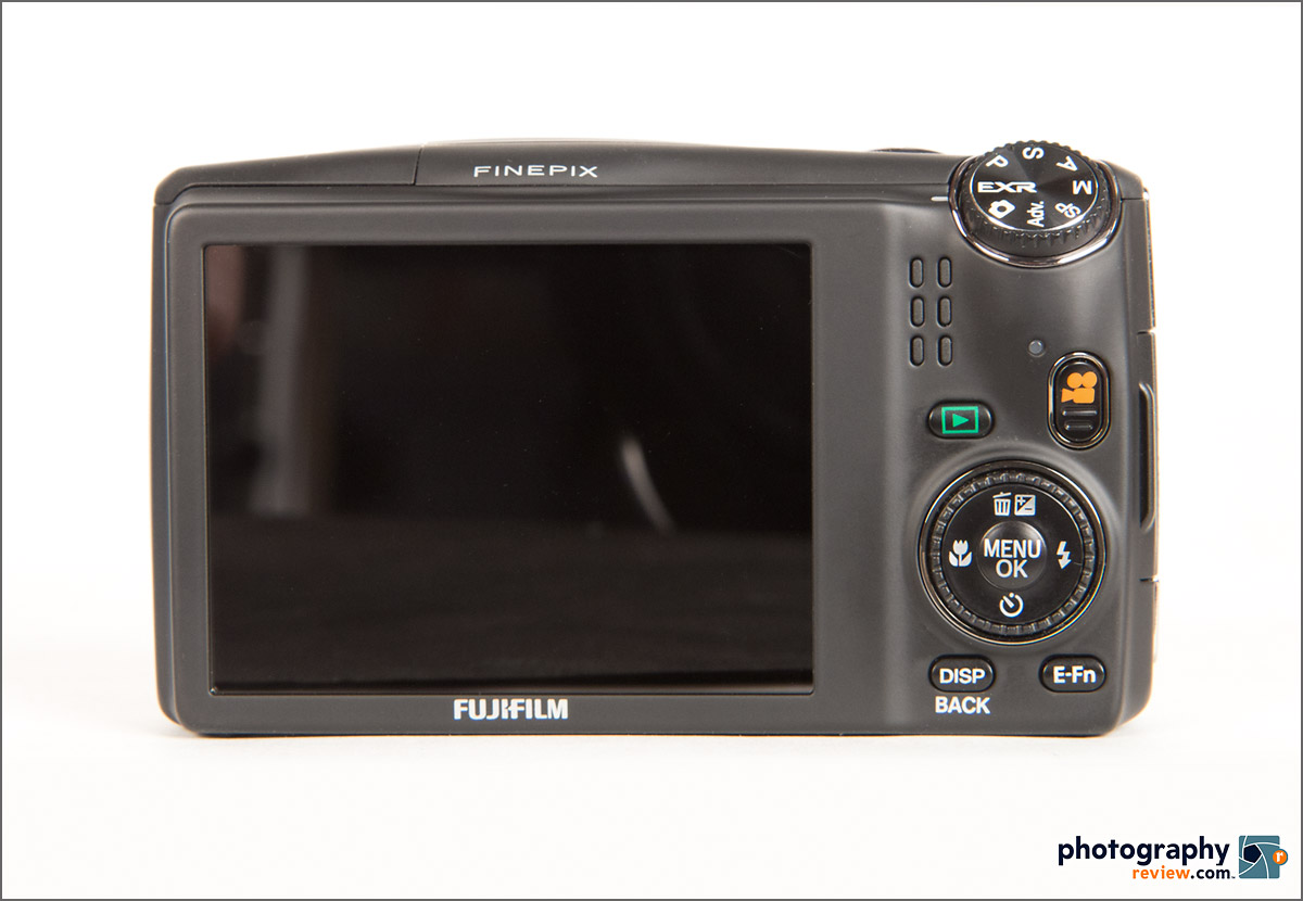 Fujfilm FinePix F900 EXR - Rear View