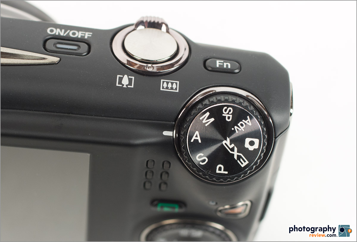 Fujfilm FinePix F900 EXR - Mode Dial With PASM Modes