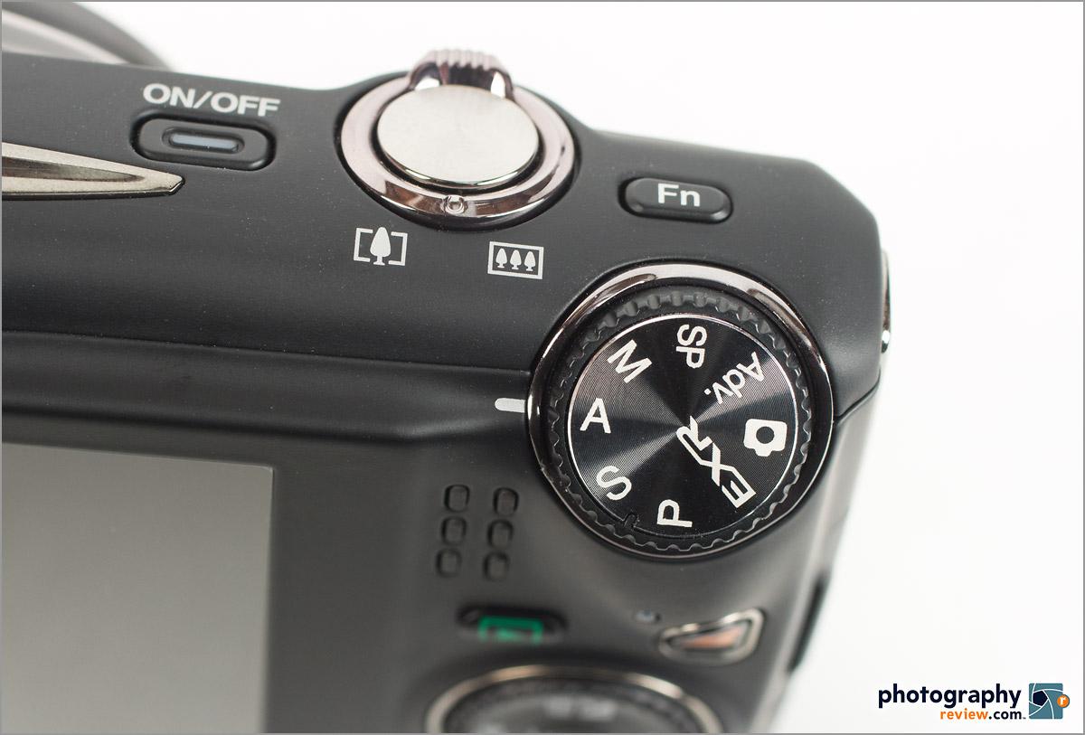 Fujfilm FinePix F900 EXR - Mode Dial With PASM Modes