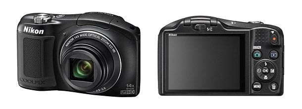 Nikon Coolpix L620 Pocket Camera - Front & Back