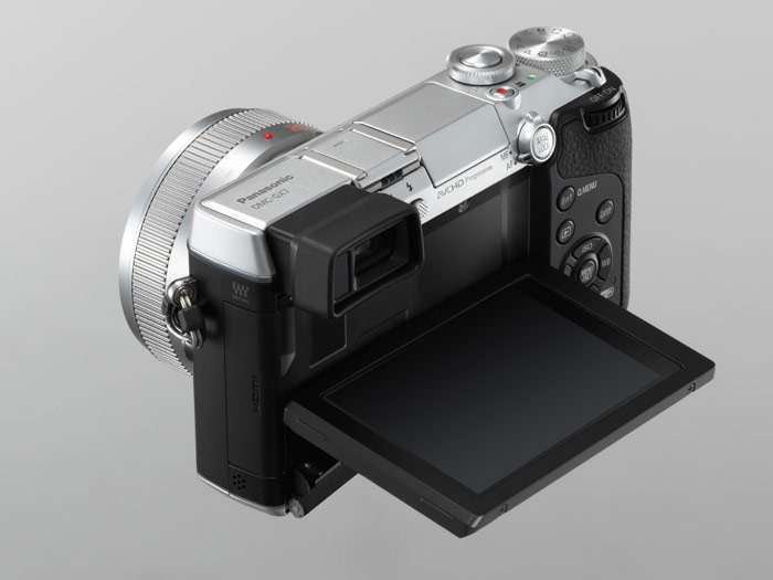 Panasonic Lumix GX7 - LCD Display In Waist-Level Posttion