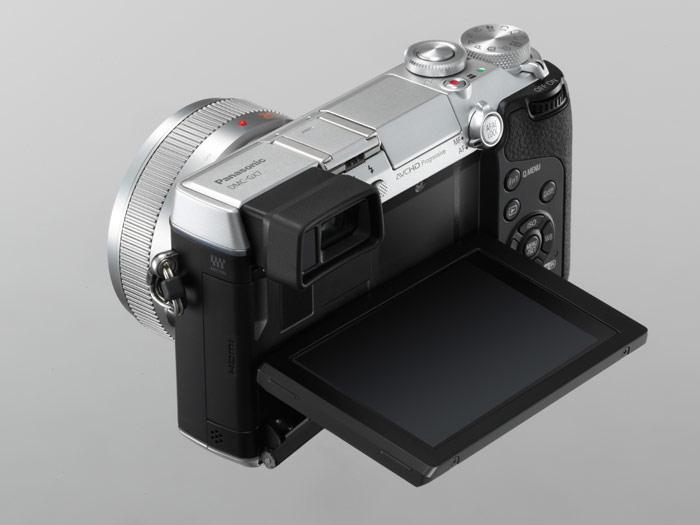 Panasonic Lumix GX7 - LCD Display In Waist-Level Posttion