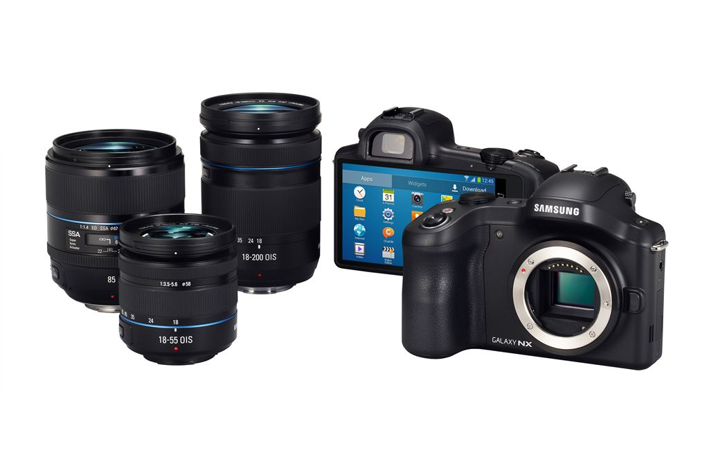 Samsung Galaxy NX Android Camera With 4G Mobile Connectivity