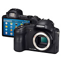 Samsung Galaxy NX 4G Android Mirrorless Camera - Front & Back
