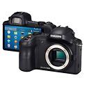 Samsung Galaxy NX 4G Android Mirrorless Camera - Front & Back
