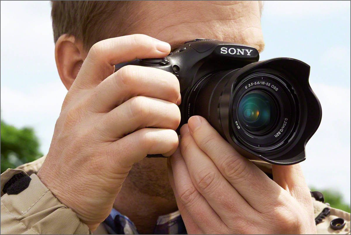Photographer & Sony Alpha A3000