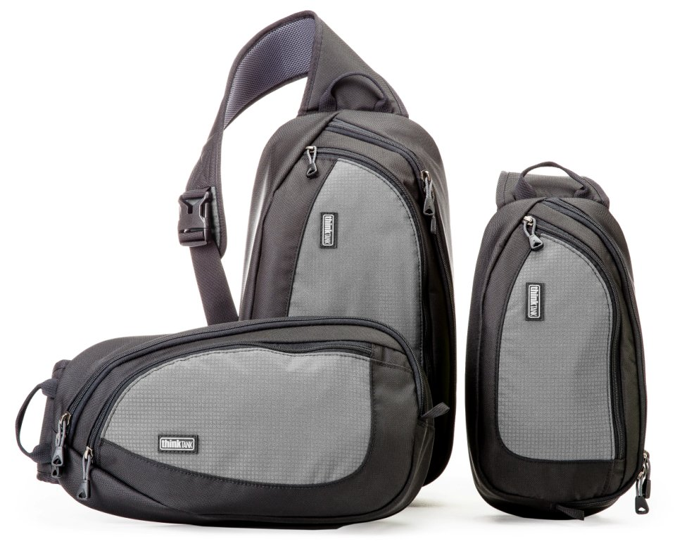 Think Tank Photo TurnStyle Camera Sling Packs In Charcoal