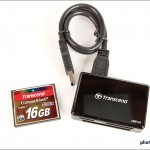 Transcend 16 GB UDMA 71000x CompactFlash Card & USB 3.0 Reader