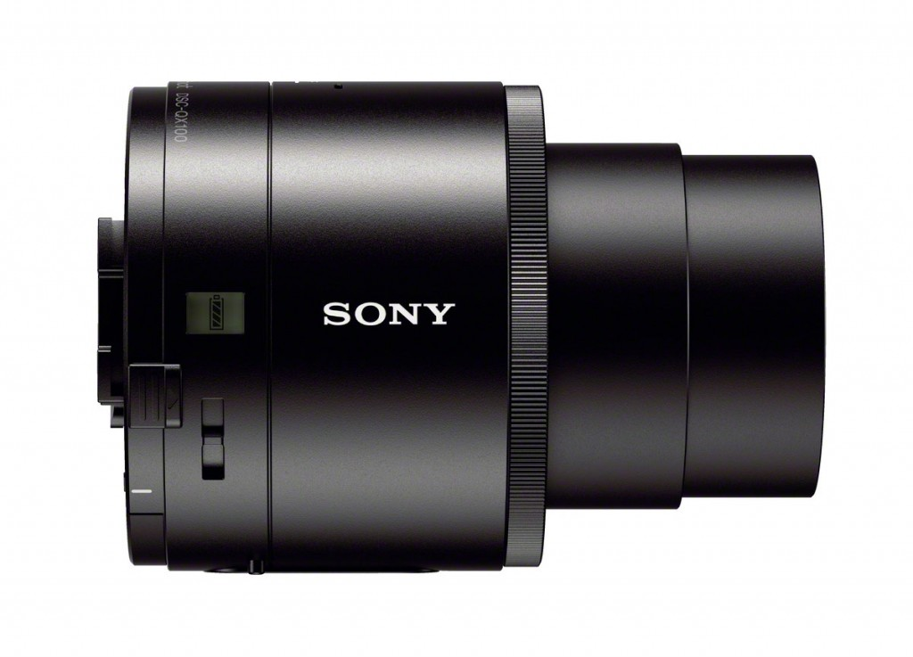 "Sony Cybershot QX100 ""Lens-Style"" Camera - Right Side"