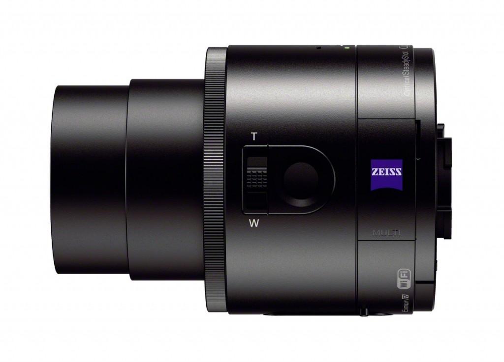 "Sony Cybershot QX100 ""Lens-Style"" Camera - Left Side"