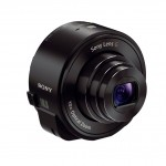 "Sony Cybershot QX10 ""Lens-Style"" Camera - Angle View - Black"