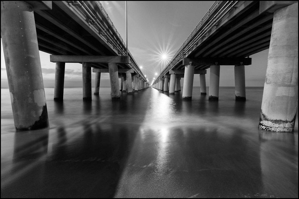 """Chesapeake Bay Bridge Tunnel"" by Coolhandchuck"