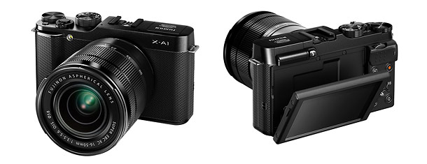 Fujifilm X-A1 Mirrorless Interchangeable Lens Camera