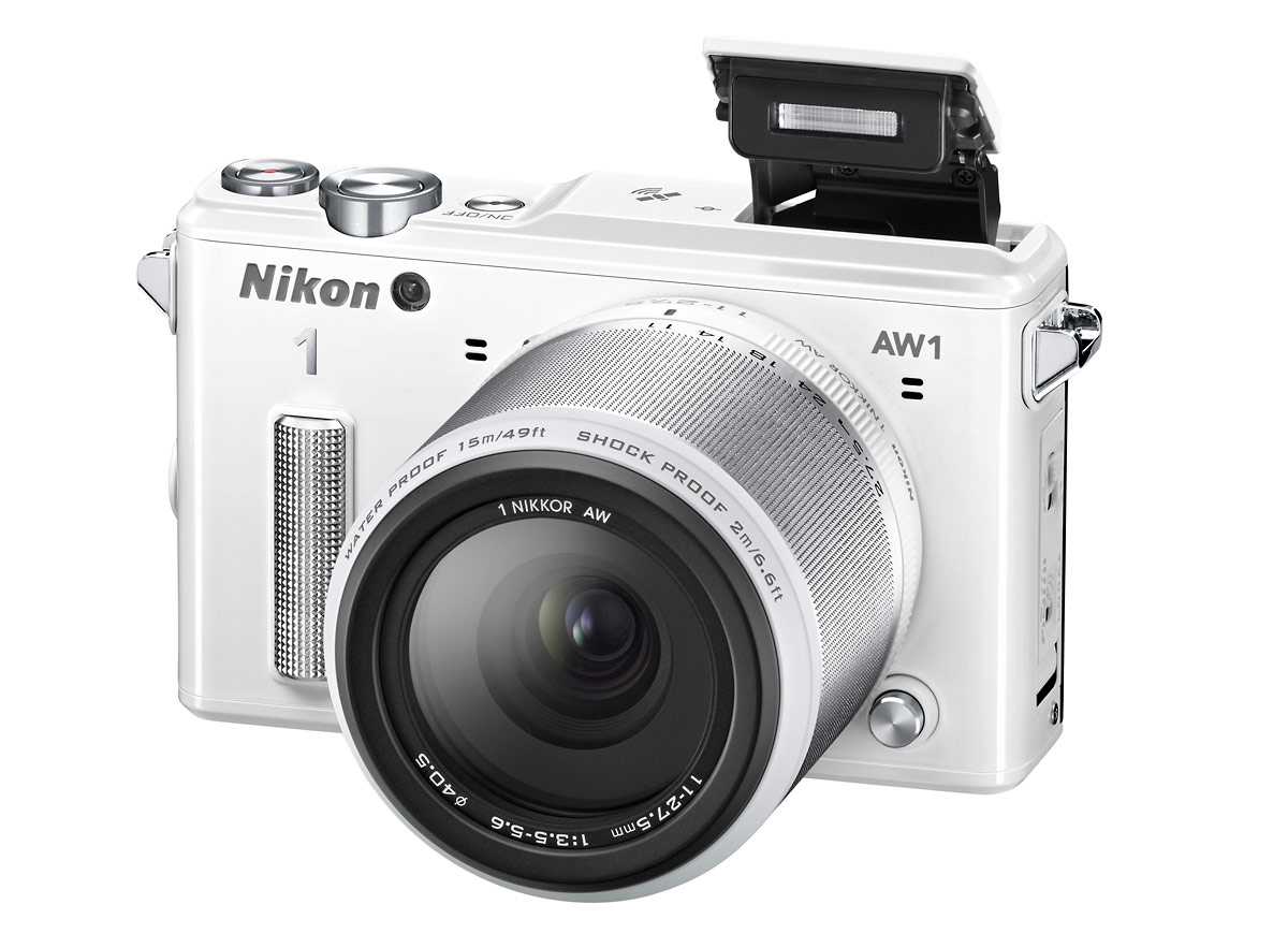 Nikon 1 AW1 - Pop-Up Flash