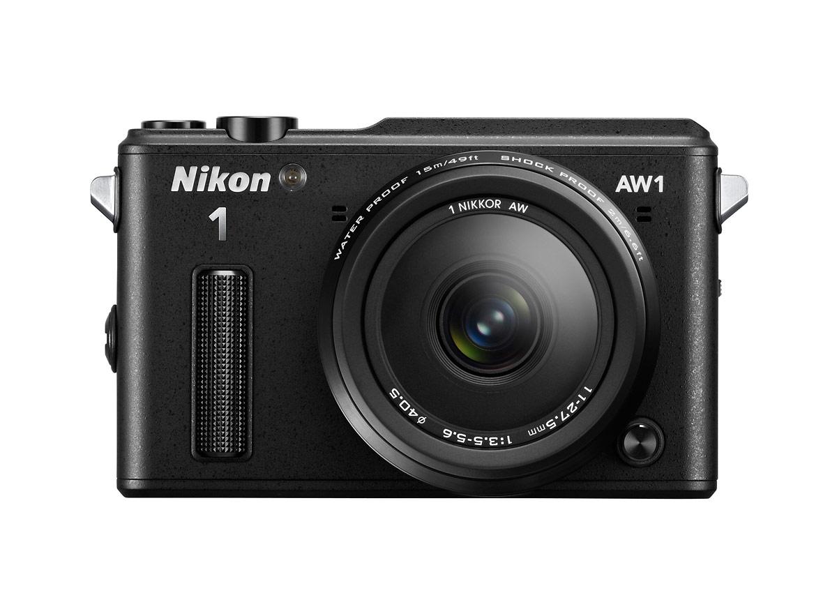 Nikon 1 AW1 Waterproof Mirrorless Camera - Front