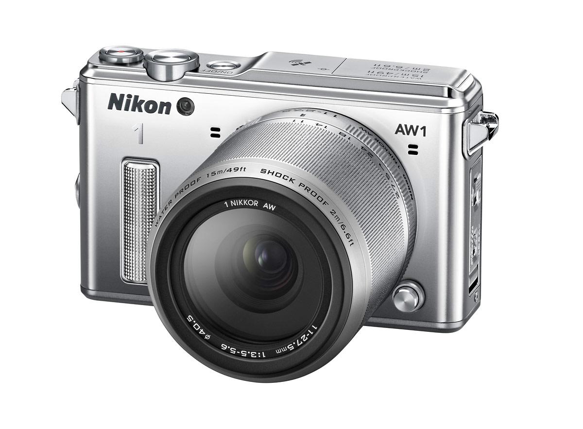 World's First Waterproof, Shockproof Interchangeable Lens Camera - Nikon 1 AW1