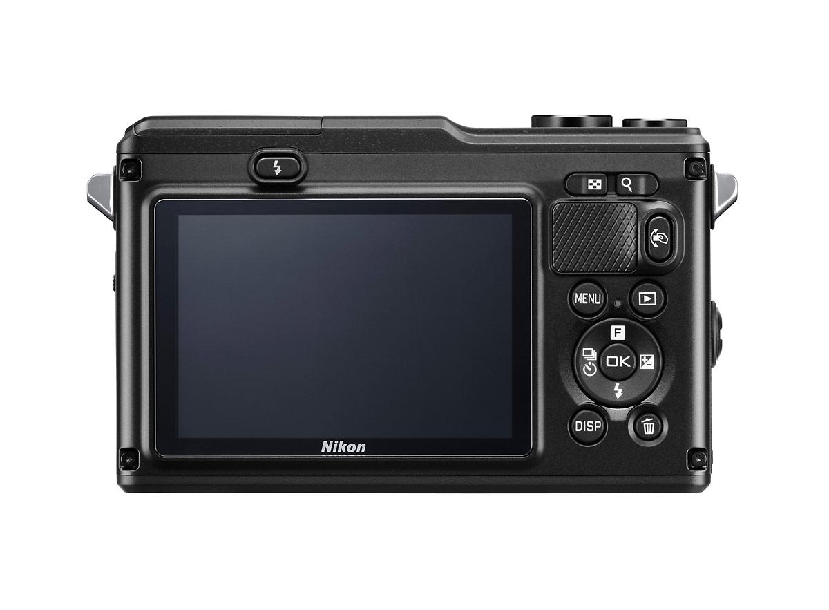 Nikon 1 AW1 Waterproof Mirrorless Camera - Rear
