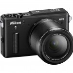 Nikon 1 AW1 Waterproof Interchangeable Lens Camera - Right - Black