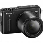 Nikon 1 AW1 Waterproof Interchangeable Lens Camera - Right - Black