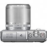 Nikon 1 AW1 Mirrorless Camera - Top View - Silver