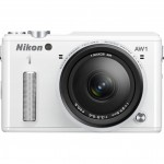 Nikon 1 AW1 Rugged Mirrorless Camera - Front - White