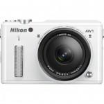 Nikon 1 AW1 Rugged Mirrorless Camera - Front - White