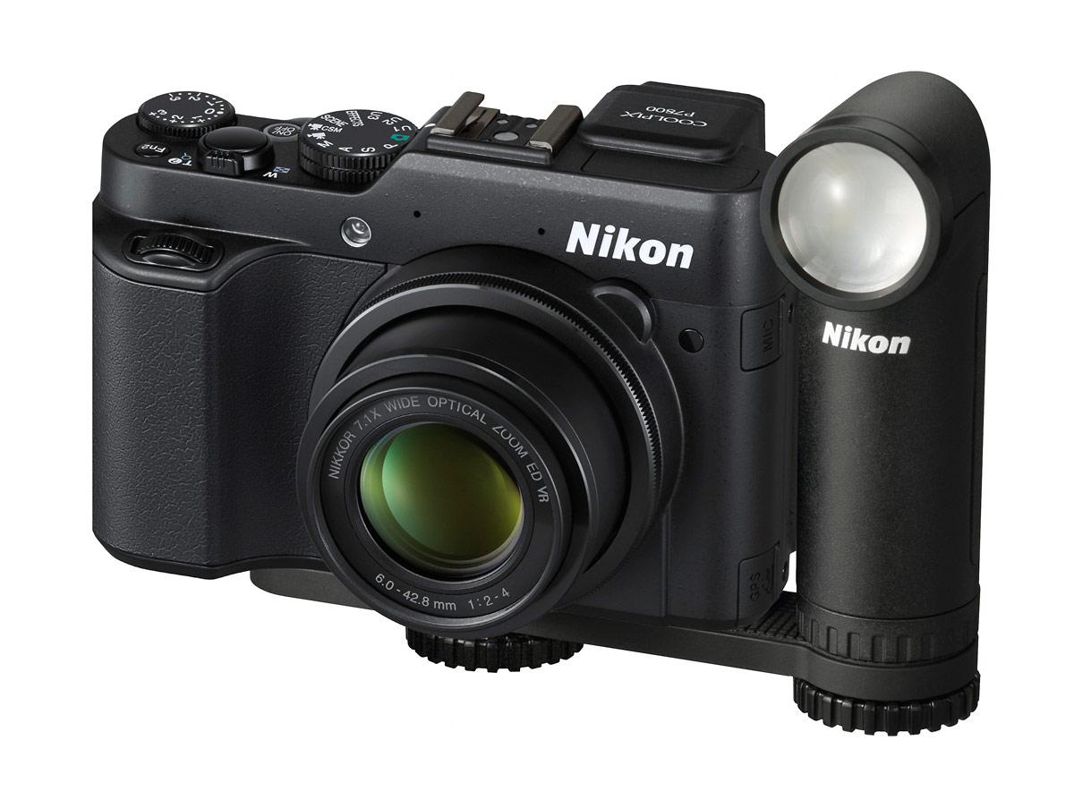 Nikon Coolpix P7800 & New LD-1000 LED Movie Light