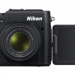 Nikon Coolpix P7800 - Front View With 3-Inch Tilt-Swivel LCD Display